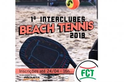 INSCRIÇÕES ABERTAS - INTERCLUBES DE BEACH TENNIS