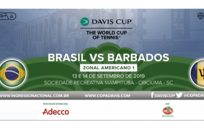 VENDA DE INGRESSOS COPA DAVIS 2019
