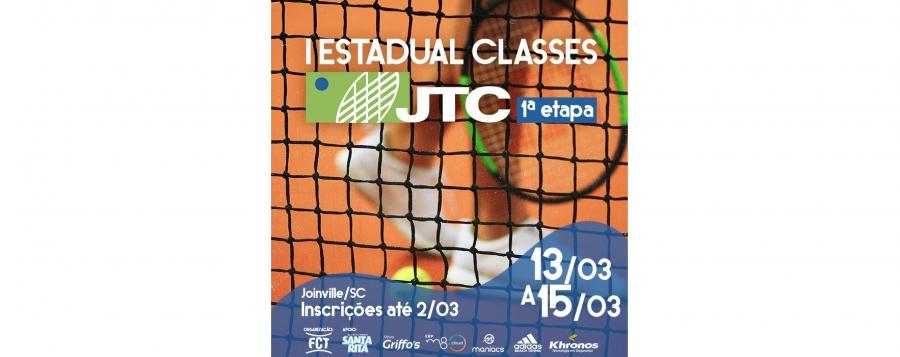 Últimos dias das inscrições - Primeira etapa do I Estadual Classes do JTC FCT.